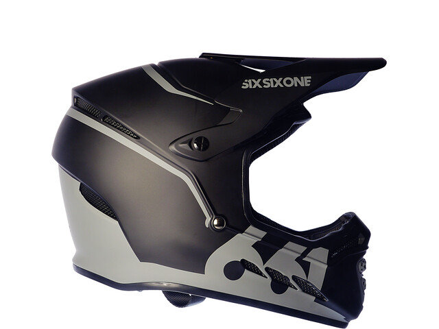 SixSixOne Reset Full Face Helmet midnight black
